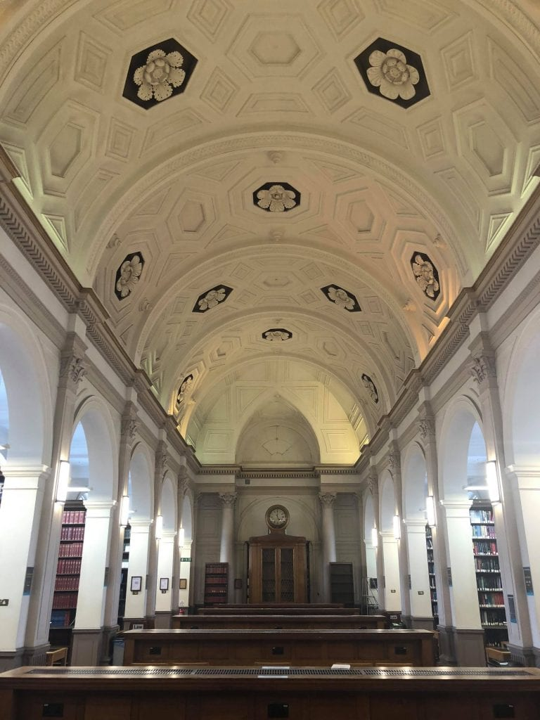 UCL Summer School Main Library Law Reading Room
