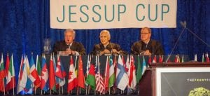 (H.E. Hishashi Owada – Judge, ICJ; H.E. Sir Christopher Greenwood – Judge, ICJ; and, H.E. Bruno Simma – Former Judge, ICJ)
