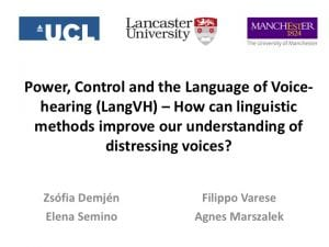 LangVH Symposium cover slide