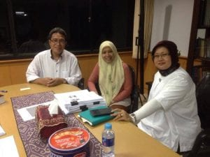 Meeting with Head of National curriculum centre