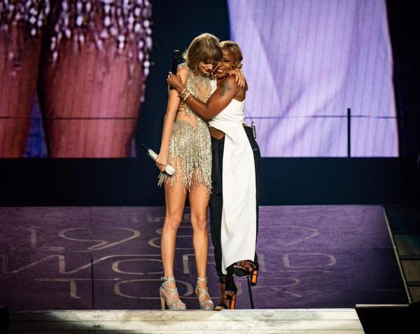 Taylor Swift and MaryJ Blige