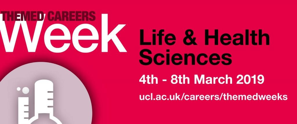 Life & Heath Sciences. 4th - 8th March 2019