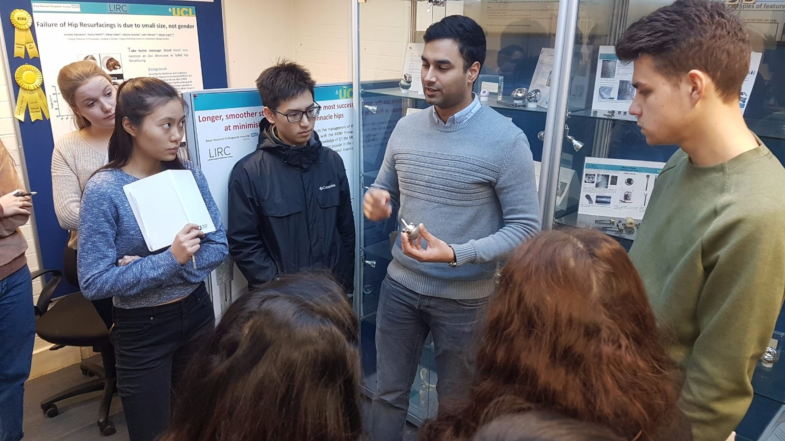 research based teaching ucl medical physics and biomedical the day began early a long journey on the tube to stanmore on the outskirts of london where the class met after a short taxi ride to the hospital