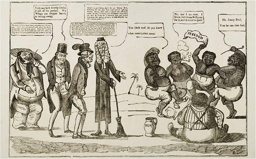slavery abolitionist vs slave holders