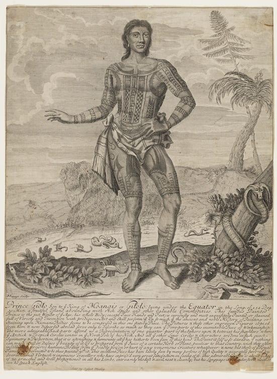 Prince Giolo, 1692