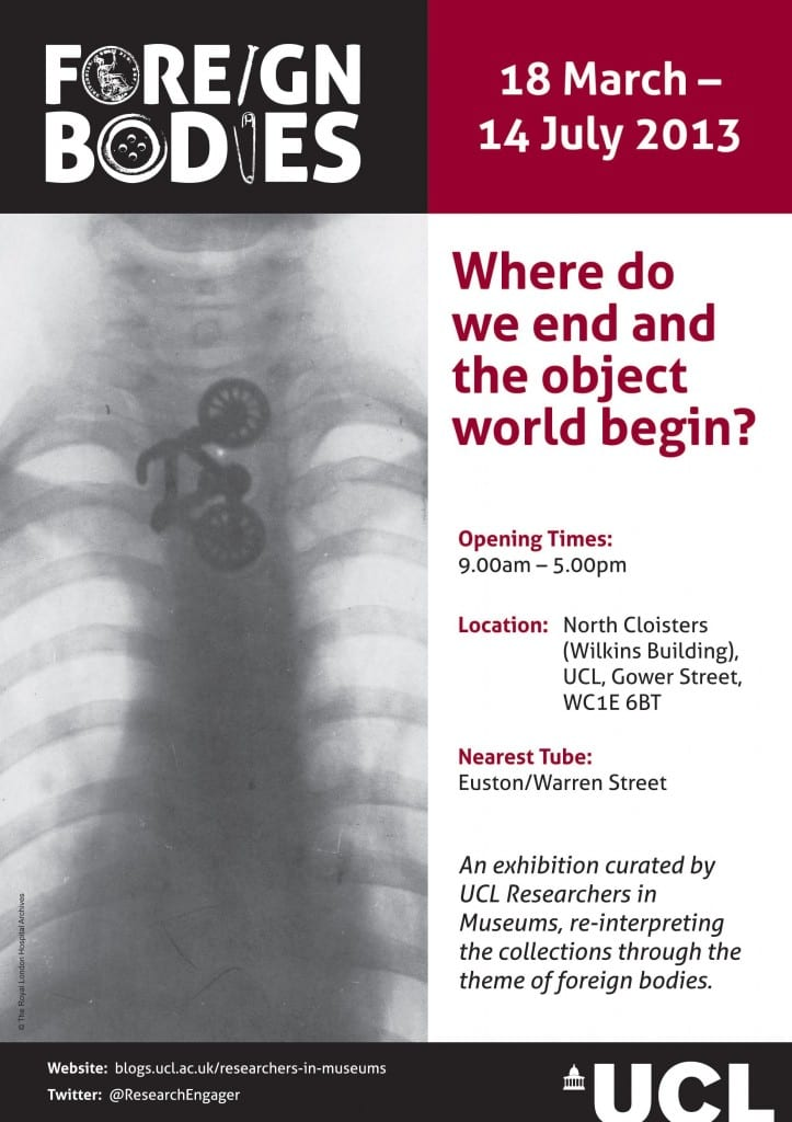 UCL Foreign Bodies Exhibition