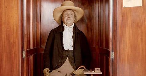Jeremy Bentham Auto-Icon - A Utilitarian Anatomy?