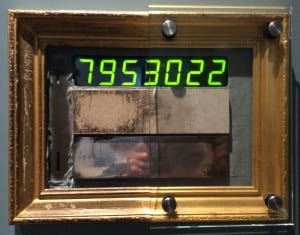 The Ashmolean's Touchometer. Thanks to Mark Norman.