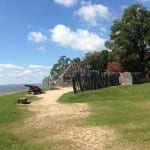 Jamestown Fort, 2015.