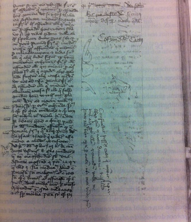 Cat urinated on manuscript