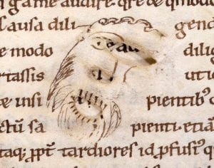 Face-to-face with medieval manuscripts (Image credit: Bamberg, Staatsbibliothek, Msc. Patr. 4, f. 69r)