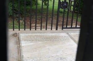 Francis Galton's Grave in Claverdon Graveyard