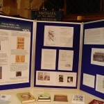Galton display in Claverdon church