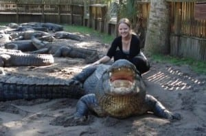 Want to pet my alligator love?