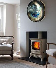 Fireplace fish