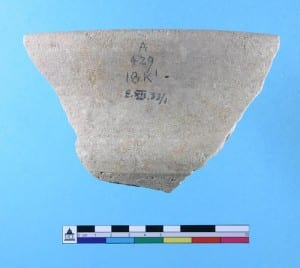 Rim sherd EXII.33/1. Just so you know what it looks like.
