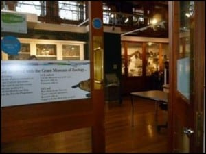 New entrance to the Grant Museum of Zoology