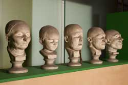 death masks for blog