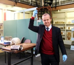 Ian Hislop and the Galton Head Spanner