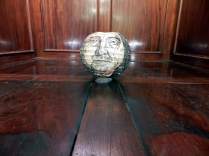 15_Bentham's (paper) head in the box