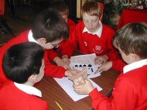 Object handling in primary school