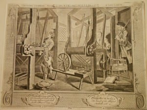 print from Hogarth's series Industry and Idleness