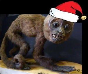 Christmas Scary Monkey