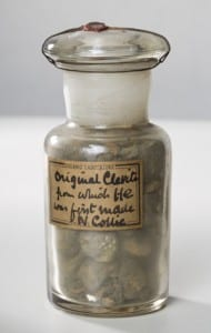 Sir William Ramsay's original cleavite specimen