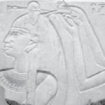 Hairdressing scene of Queen Nefru, 11th Dynasty, Deir el-Bahari, Brooklyn Museum. copyright Dr. Joann Fletcher