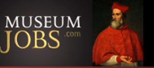 The snazzy museum jobs website, copyright www.museumjobs.com