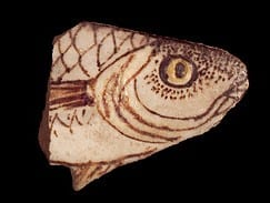 A faience fish from Armana