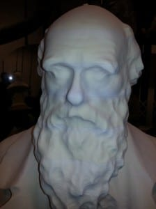 "The foam milled Darwin - somehow more ""digital"""