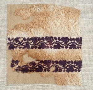 UC75907, Coptic embroidery from the Petrie Museum