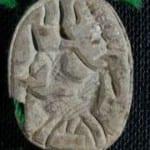 Mounted Astarte, Petrie Museum UC38068