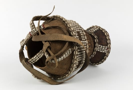 Basket decorated with beads from Ethnographic Collections UCL