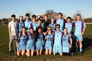 UCL's Victorious Varsity Lacrosse team, copyright Luisa Ramirez