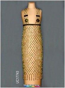 Old Kingdom Bead net dress from Qau UC17743 © Petrie Museum of Egyptian Archaeology