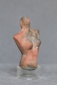 UC9601, Egyptian figurine dating to c.3600 BC. Excavated from the surface of cemetery 100 at Qau in the early 1920s.