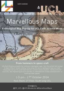 Marvellous Maps Poster
