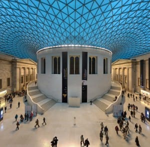 The British Museum Great Court. A National with lots of collection specific curators (Image from Wikipedia)