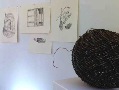 Sawdust & Threads exhibition in the UCL North Lodge on Gower Street