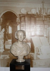 This Girl Can. Plaster bust of Amelia Edwards in the entrance to the Petrie Museum