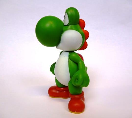 Image of a Yoshi figurine