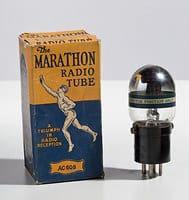 Radio Valve manufactured by the Marathon Company