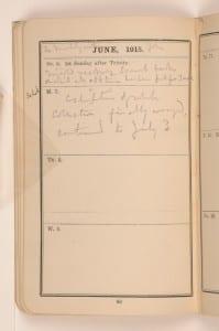 Petrie Pocket diary