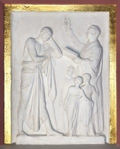 Instruction of the Heathen: Believe. Monument to the Reverend Christian Willain Gericke, 1809 - 12