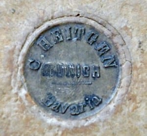 Heitgen's mark on LDUCZ-X1093