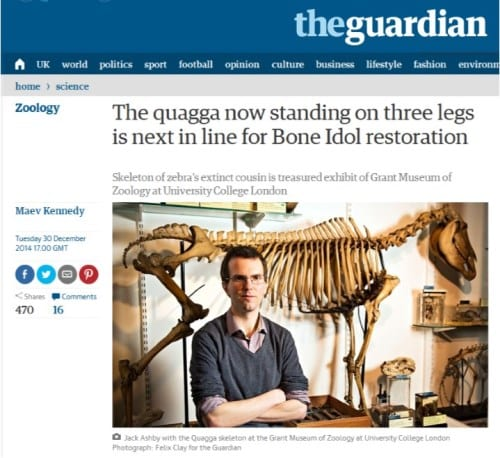 Quagga Guardian article