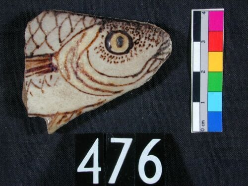 Underwhelming Fish Of The 2nd Millennium Bc Not This Faience Decorative Inlay From Amarna Now In Petrie Museum Egyptian Archaeology Uc476