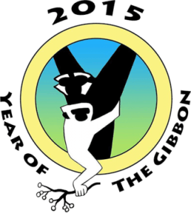 Year of the Gibbon Logo